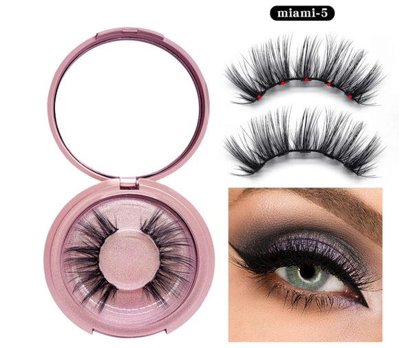 Magnetic Liner and Lash Kit - Miami 5 Series - MQO 50pcs