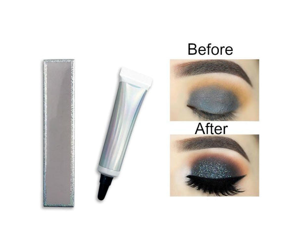 Your holy grail of Primers is here and waiting for your logo!   This fabulous multi-use Primer is water-resistant and delivers zero fallout.  A lightweight sealer/base used to adhere any pigments, eye sparkles, and glitters. Intensifies color and provides extra protection against smudges and fallout for a flawless 12-hour wear.  Can be used on Eyes, Lips and anywhere else you want to add a little sparkle and shine!
