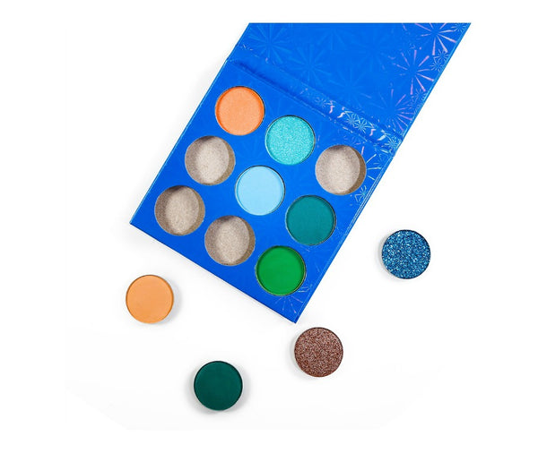 Blue Case 9 Shade DIY Palette - MQO 50 pcs