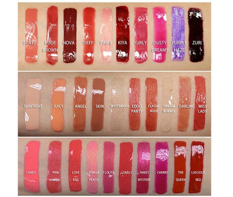 DIY Lip Gloss - MQO 50 pcs