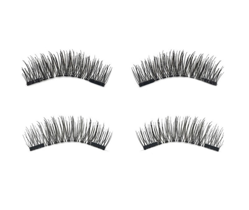 These fabulous lashes are easy to apply, apply in seconds with no messy glues or adhesives required! Ultra-lightweight (you may even forget you're wearing it-until you see your stunning self in the mirror, that is) These lashes stay in place until you're ready to remove them! They are safe for everyday use, won't irritate your eyes or damage your natural lashes (can't say that about other lash extensions)  Benefits:   Easy to apply, apply in seconds No messy glues or adhesives required Ultra-lightweight Sta