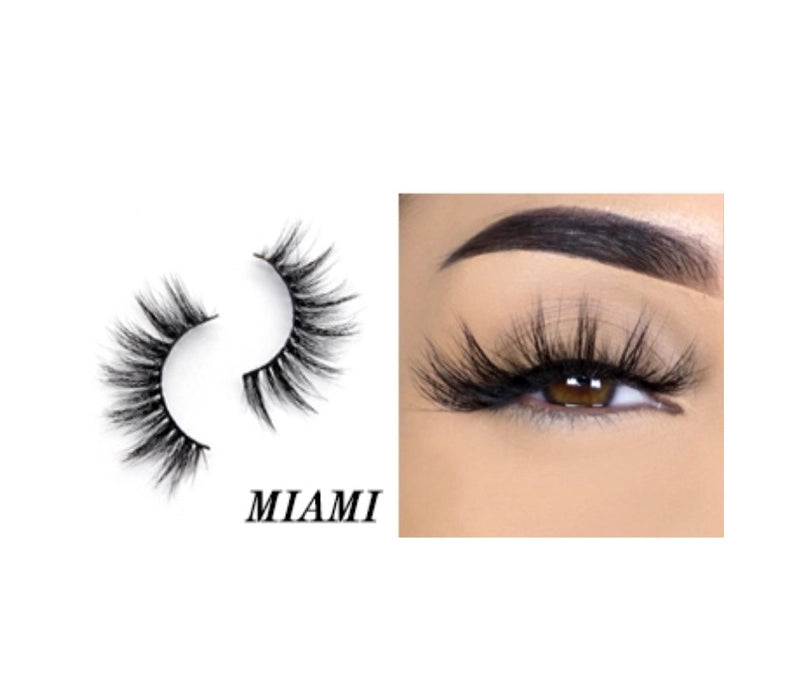 Miami Silk Lashes - MQO 50 pcs
