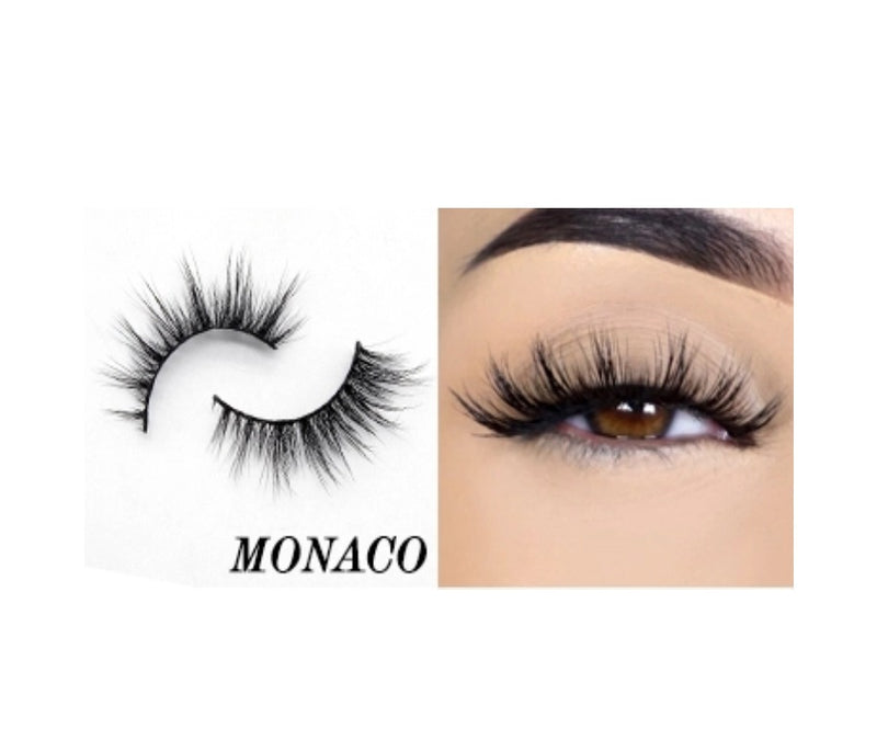 Monaco Silk Lashes - MQO 50 pcs