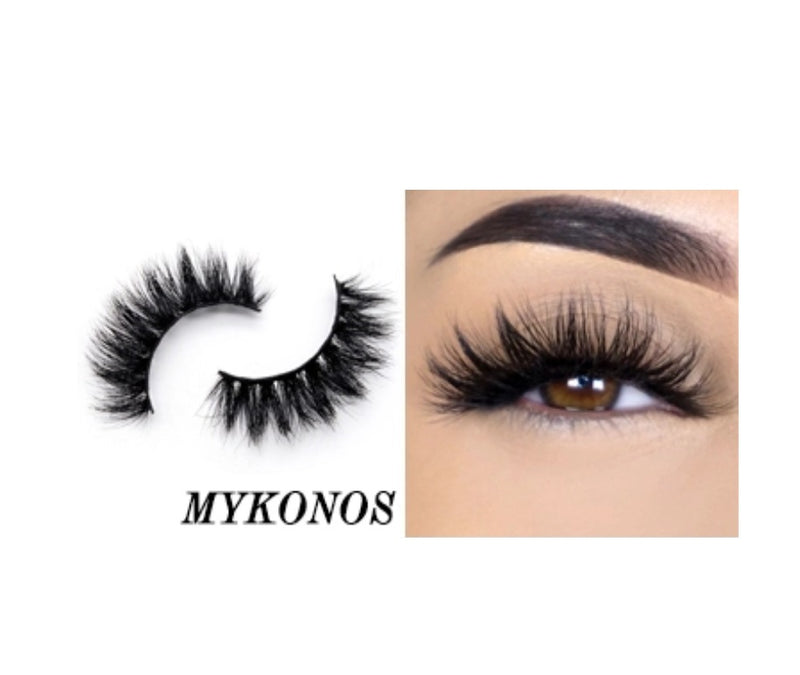 Mykonos Silk Lashes - MQO 12 pcs