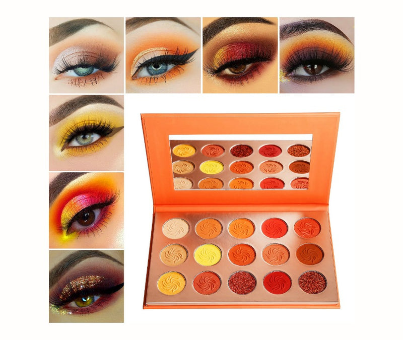 15 Shade Summer Set Eyeshadow Palette - MQO 50 pcs