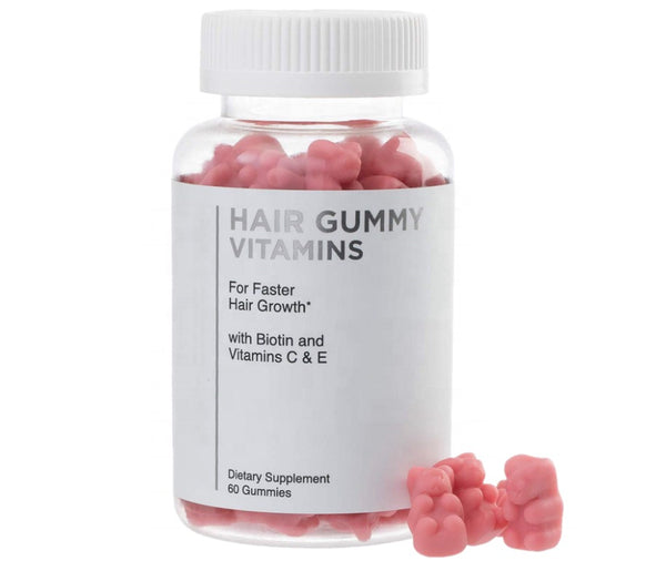 Pink Biotin Gummies - Hair Skin Nail Growth - MQO 100 pcs