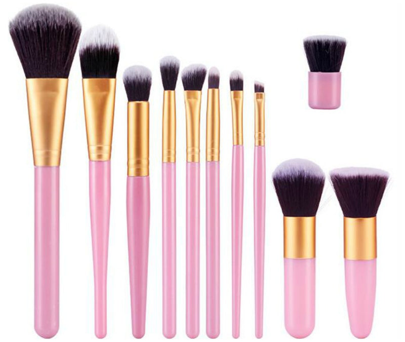 11 pc Pro Sleek Brush Set 2 styles - MQO 50 pcs