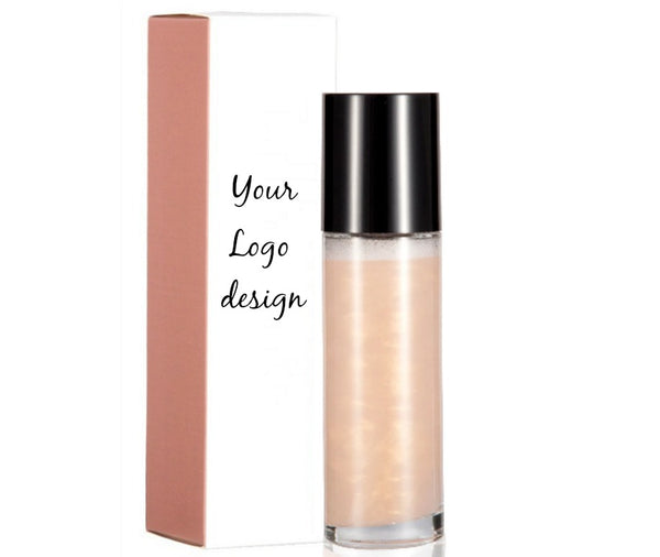 Rose Gold - Face and Body Shimmer Highlighting Spray - MQO 50 pcs