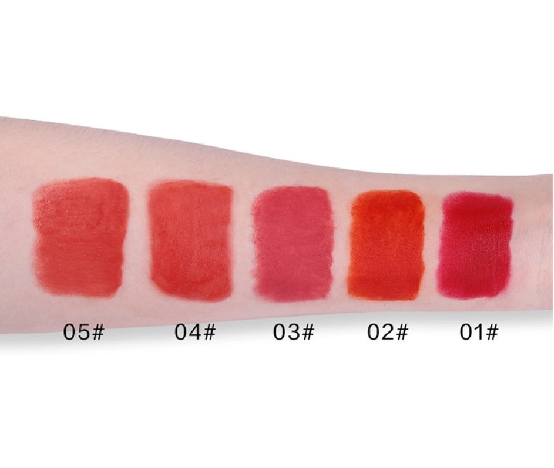 18 Shade Waterproof Matte Liquid Lipstick - MQO 12 pcs