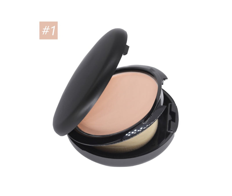 Dual Usage Wet and Dry Oil Control Face Powder - MQO 12pcs