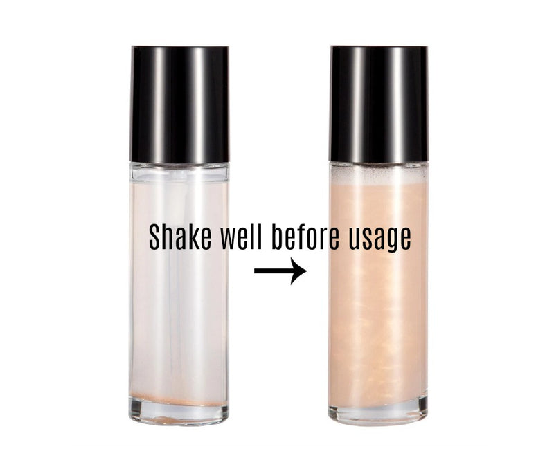 All 3 - Face and Body Shimmer Highlighting Spray - MQO 50 pcs