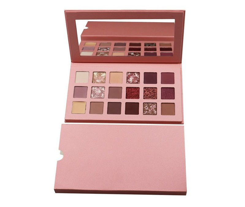 Breakfast On The Beach 18 Shade Palette - MQO 50 pcs