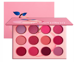 Sweet Peach Scented 12 Shade Eyeshadow Palette - MQO 12 pcs