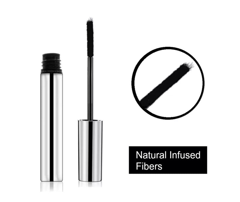 Natural Organic Enhance Lash Mascara W/Infused Eyelash Growth Serum - MQO 12 pcs
