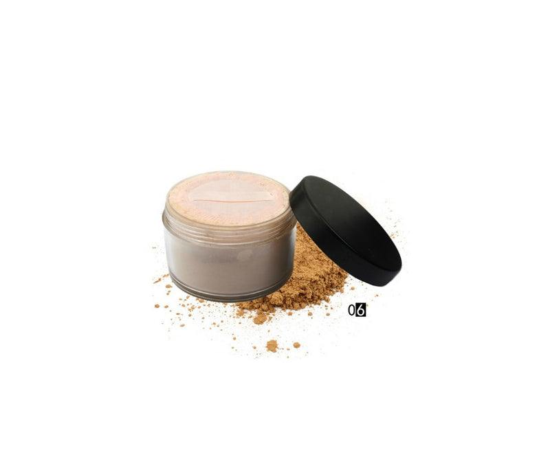 Private Label Oil Control Mineral Face Powder 6 Shades - MQO 12 pcs