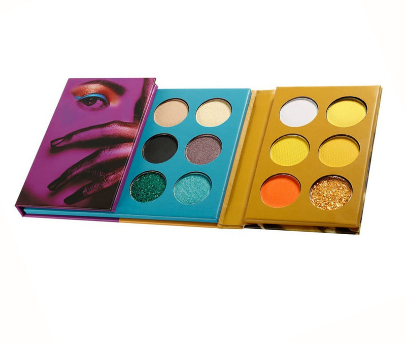 24 Shade Mixed Folding Palette  - MQO 50 pcs