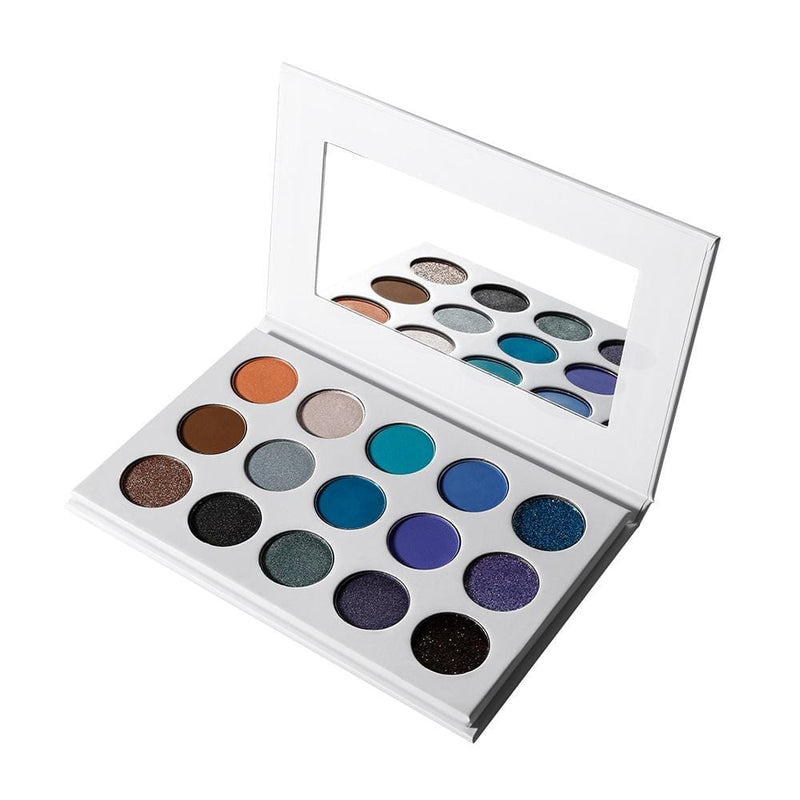 White Case 15 Shade DIY Palette - MQO 50 pcs