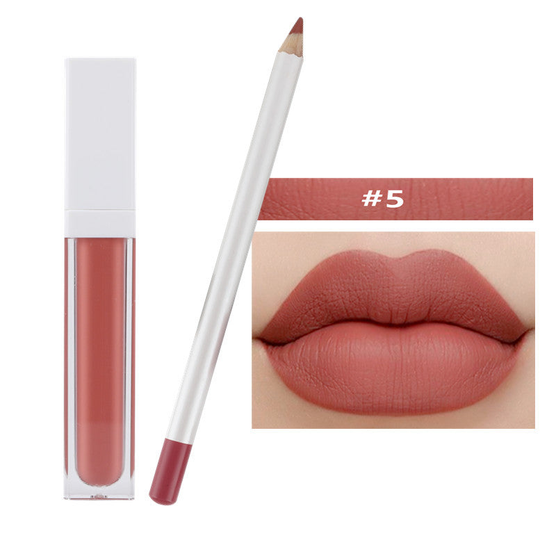 Waterproof Matte Lipstick w/Magnetic Case - MQO 12 pcs