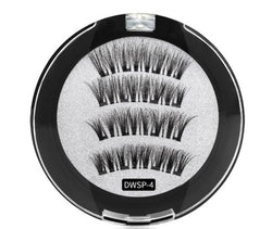 Magnetic Eyelashes w/4 Magnets #DWSP-4  MQO 12 pcs