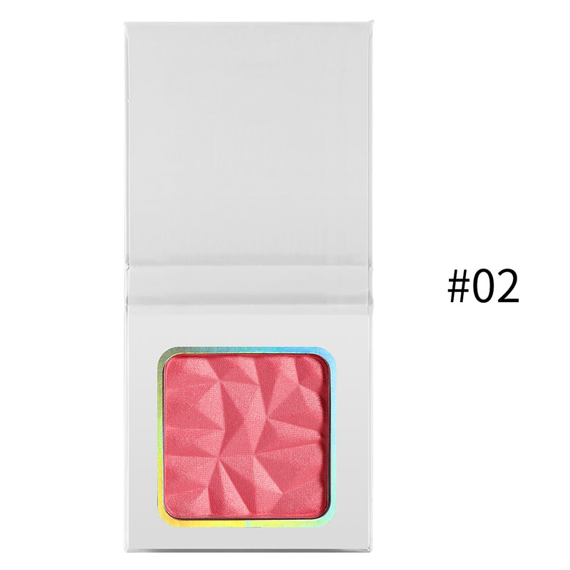 Compact Single Blushers w/White Case - MQO 50 pcs