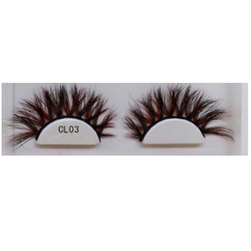 3D Colorful Lashes #CL03 - MQO 50 pcs