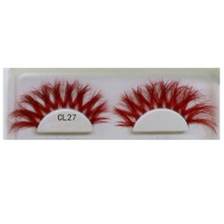 3D Colorful Lashes #CL27 - MQO 12 pcs