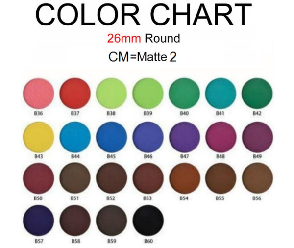 CS Single Pan Matte Part 2 Eyeshadows - 26mm