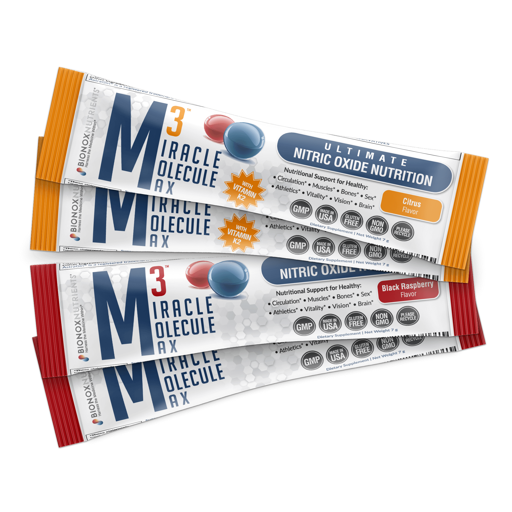 Take M3 Miracle Molecule Max for a healthy vascular system!