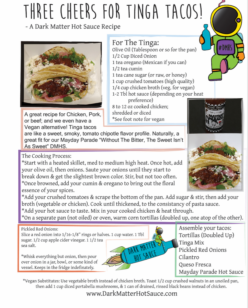 Mayday Parade's Three Cheers For Tinga Tacos