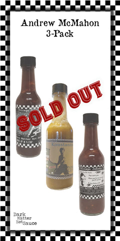 Andrew McMahon Hot Sauce Bundle