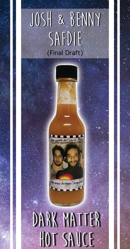 Safdie Brothers Peach Habanero Hot Sauce (5 fl oz Bottle) | Final Draft