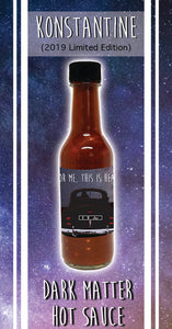 Konstantine 2019 Hot Sauce Limited Release Pre-Sale