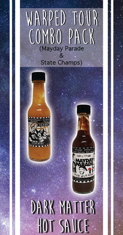 Warped Tour Combo State Champs and Mayday Parade Hot Sauce