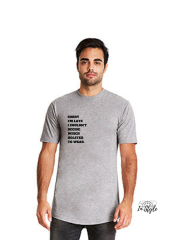 Sorry I'm Late, Men's Urban T-Shirt