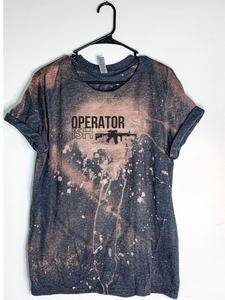OperatorISH Bleach Dyed T-Shirt