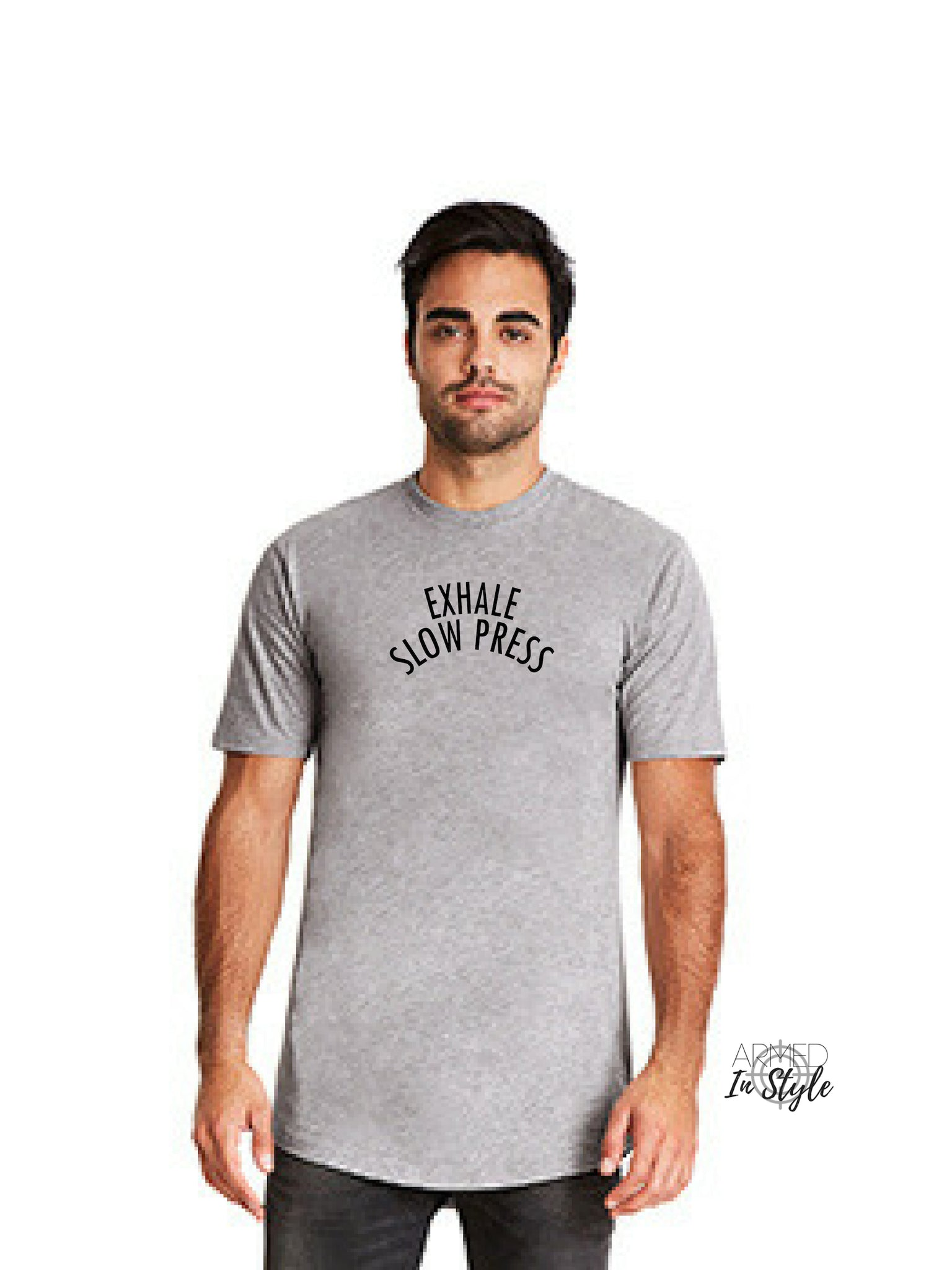 Exhale Slow Press, Men's Urban T-Shirt