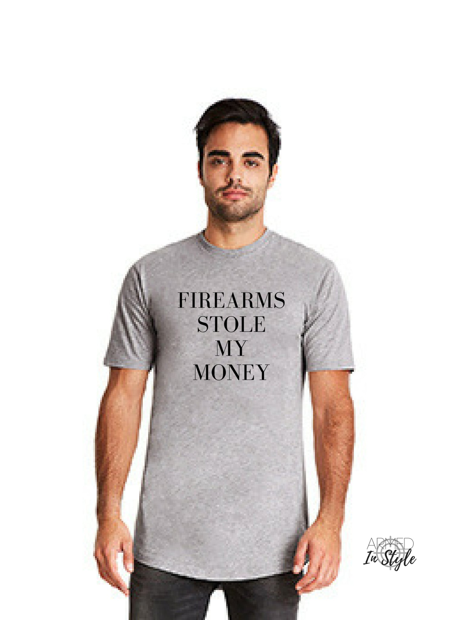 Firearms Stole My Money, Men's Urban T-Shirt
