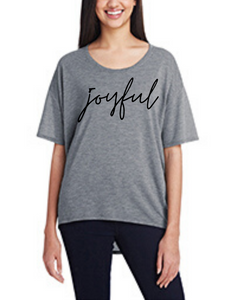 Joyful, Women's Hi-Lo Freedom Shirt