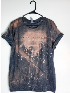 Recoil Vibes Bleach Dyed T-Shirt