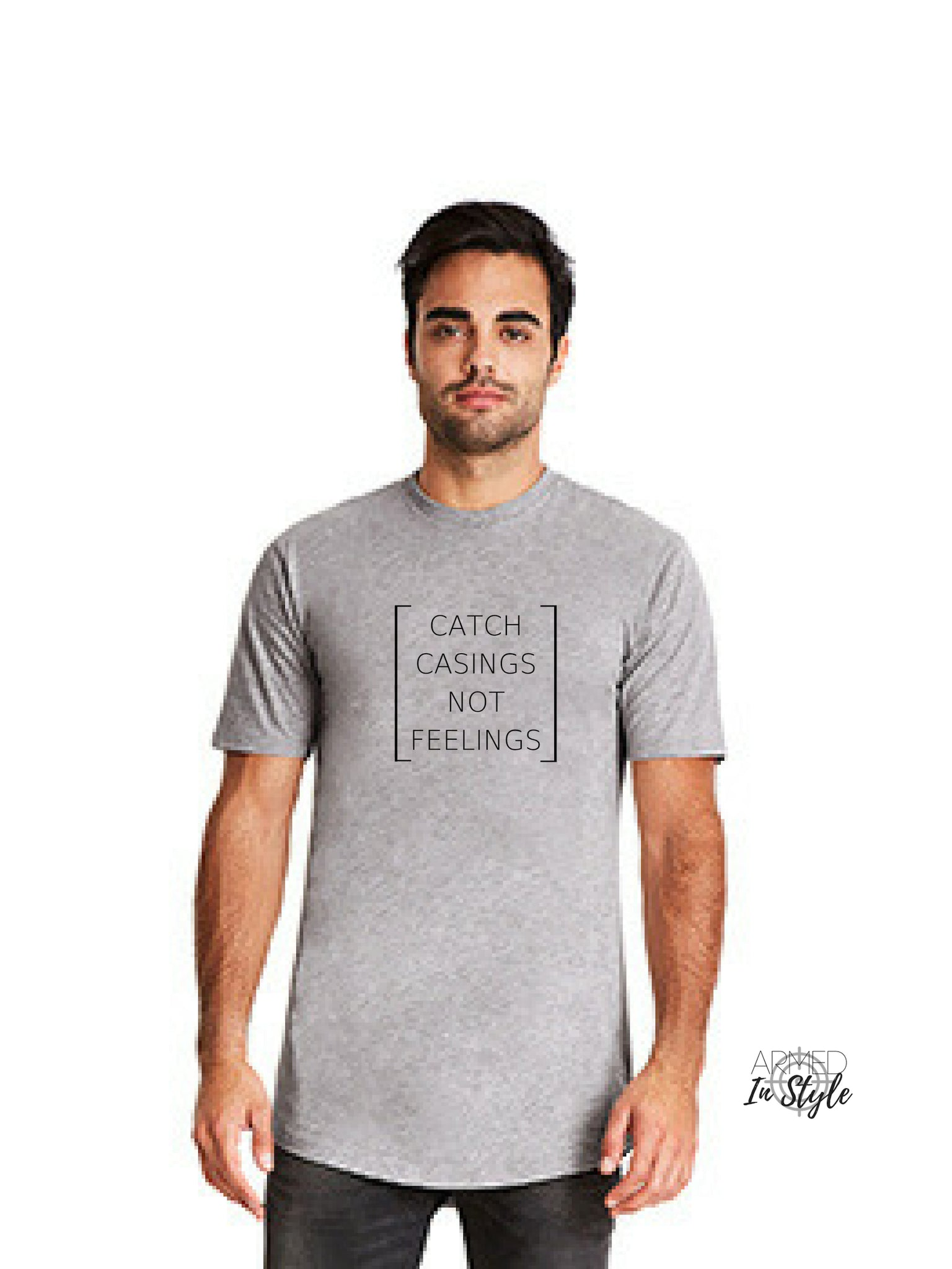 Catch Casings Not Feelings, Men's Urban T-Shirt