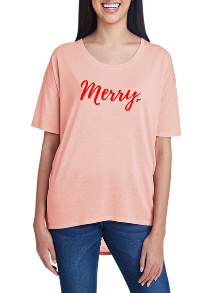 Merry, Women's Hi-Lo Freedom Shirt