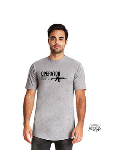 Operator-ISH, Men's Urban T-Shirt