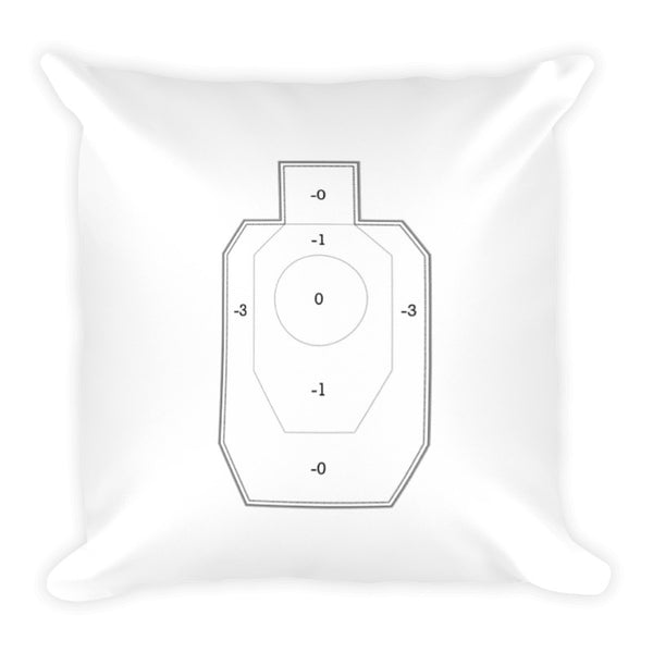 Wifey Dry Fire Pillow, IDPA Style Target