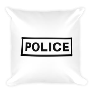 Police Label Dry Fire Pillow Case