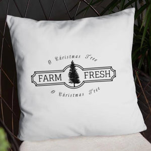 O Christmas Tree Farmhouse Dry Fire Pillow Case