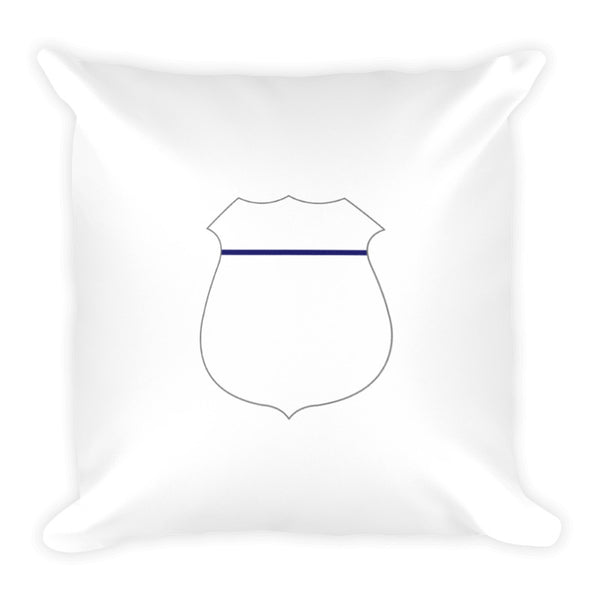 Thin Blue Line Badge Dry Fire Pillow Case
