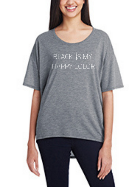 Black Is My Happy Color, Women's Shirt-Wholesale