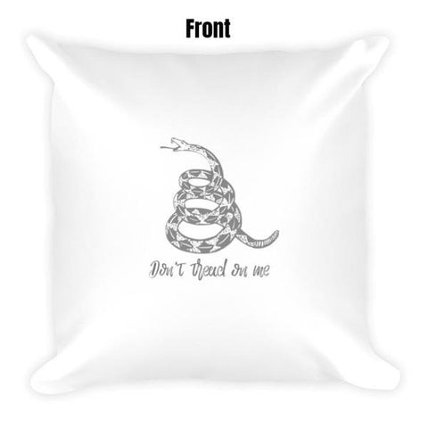Don't Tread On Me Dry Fire Pillow