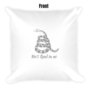 Don't Tread On Me Dry Fire Pillow Case