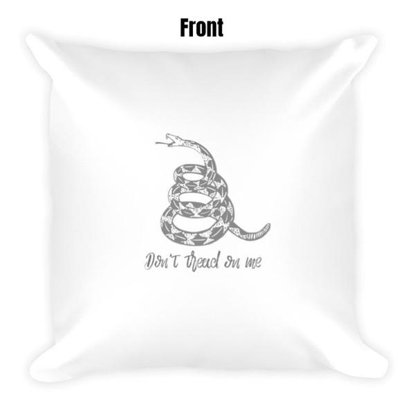 Don't Tread On Me Dry Fire Pillow-Wholesale